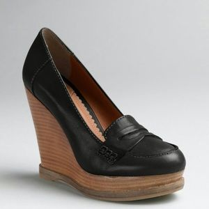 LUCKY BRAND PENNY LOAFER WEDGES